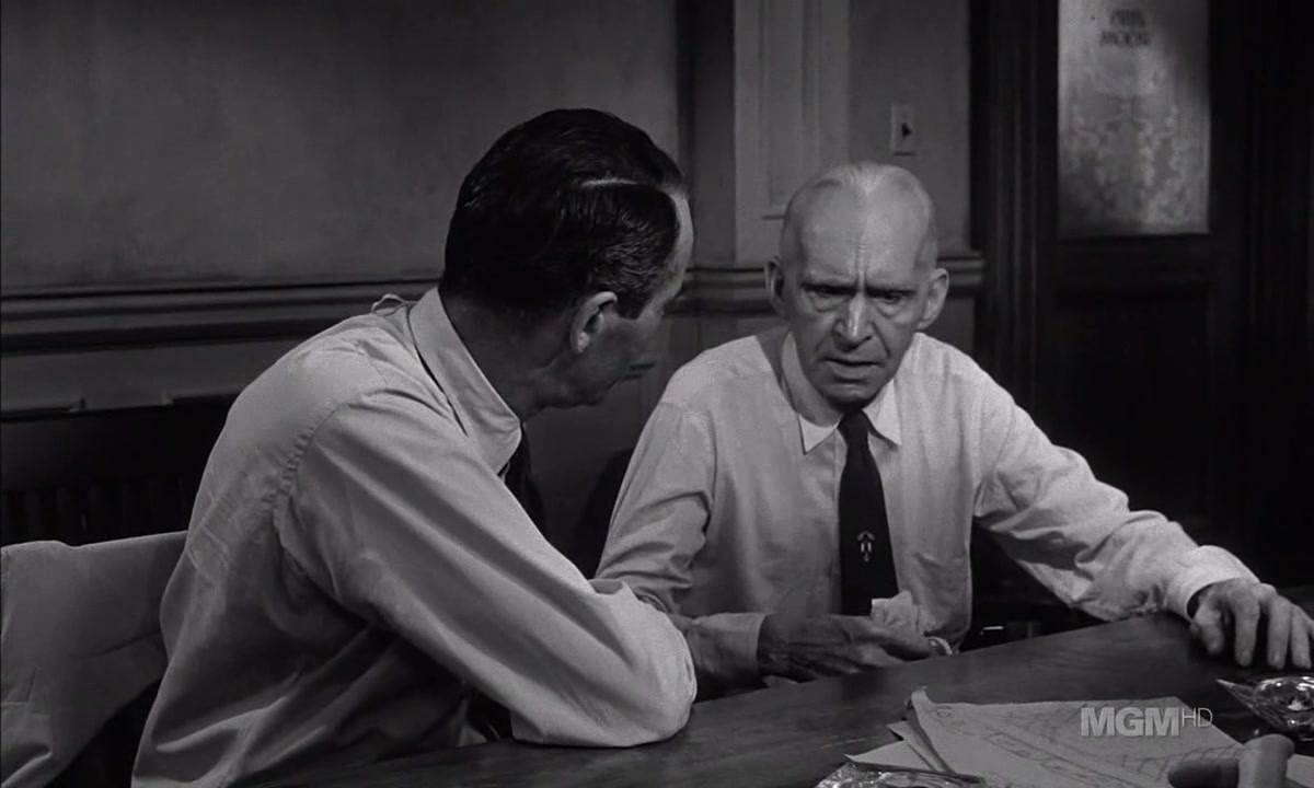 leadership in 12 angry men The setting of twelve angry men takes the reader inside the room where jurors are locked in so that there can be no interference in their deliberation of a verdict in rose's play a young male is.